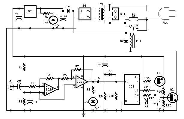 amplifier timer  auto off timer circuit  u00bb circuitszone com