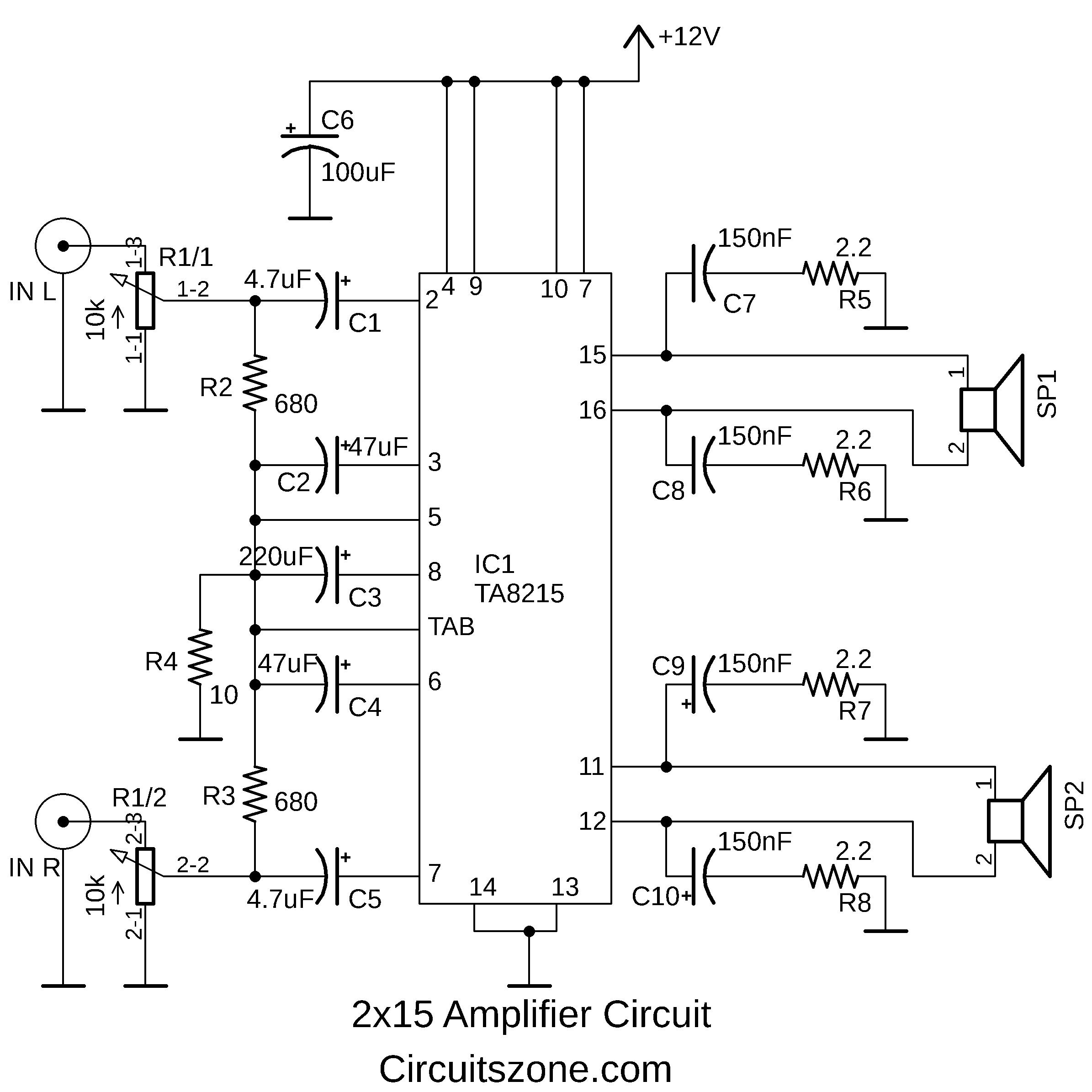 15 watt power amplifier